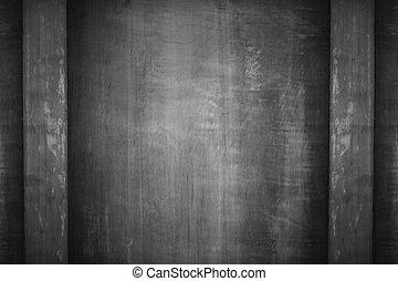 black and white wooden background or vitage rough texture
