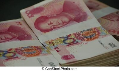 large sums of money RMB.Financial Freedom.Mao Zedong leader...