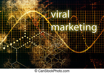 Viral Marketing Abstract Internet Concept Wallpaper...