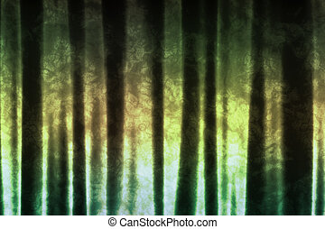 Subdued Green Abstract Soothing Background