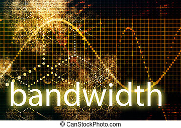 Bandwidth Abstract Technology Business Concept Wallpaper...
