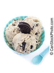cup of cookies n cream ice cream - A cup of cookies 'n cream...