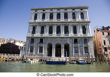 scenery along grand canal