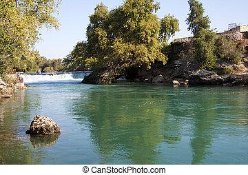 Manavgat waterfall, Antalya Province, Turkey