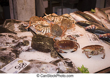 fish market of pescheria - fish market of Percheron