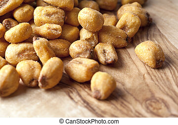 close up shot of roasted peanut - Image of roasted peanut in...