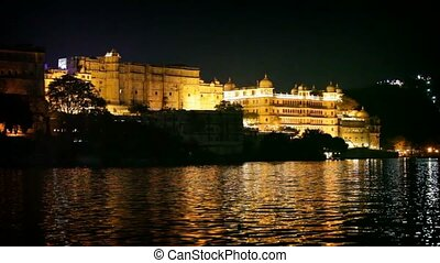 City palace, Udaipur India - 1920x1080 hidef, hdv - City...