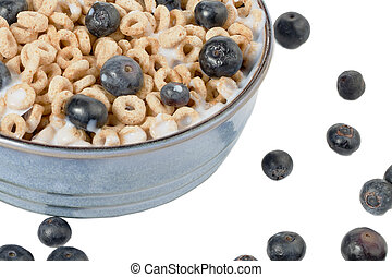 cropped image of breakfast bowl - Close-up cropped shot of...