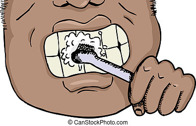 Brushing teeth Illustrations and Clip Art. 5,756 Brushing teeth ...