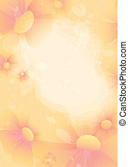 Abstract flower background. EPS10. Contains transparent...