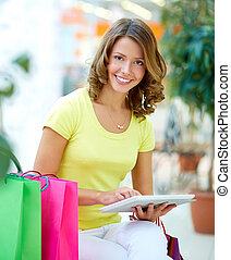 Touchpad shopping