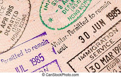 World travel passport
