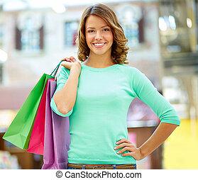 Weekend shopper