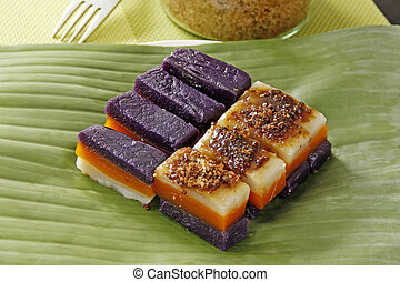 Sweet Glutinous Rice Cake - Glutinous rice cake with...