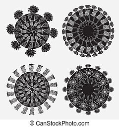 decorative round pattern