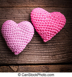 Crochet lovely hearts - Crochet valentine hearts Valentines...