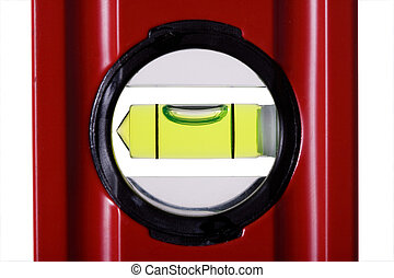 spirit level  - Red bubble spirit level for construction