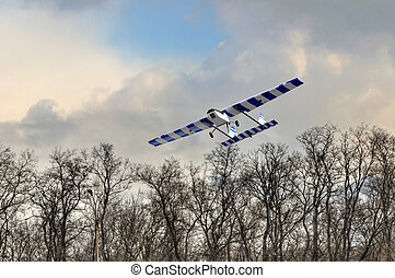 RC plane - Homemade radio control aircraft with electric...