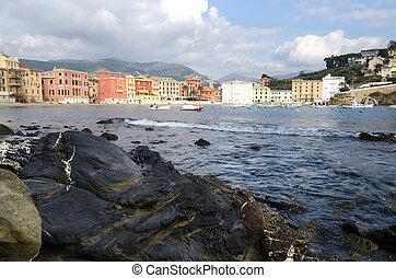 Sesrti Levante - Bay of Silence in Sesrti Levante in Genoa