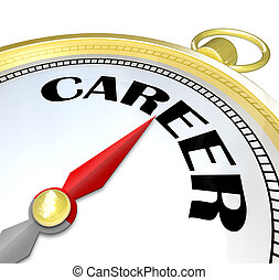 Career Gold Compass Directions Point to Success in Job - The...