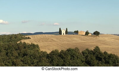 Vitaleta Tuscany - The chapel of Vitaleta (Capella di...