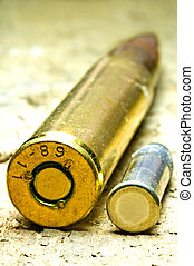 ammunition 8x57IS and cal22