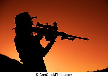 Sniper sunset Stock Photos and Images. 111 Sniper sunset ...