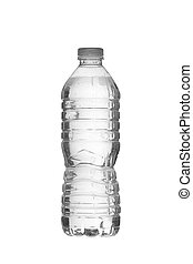 bottled water - White Bottled water in a vertical image