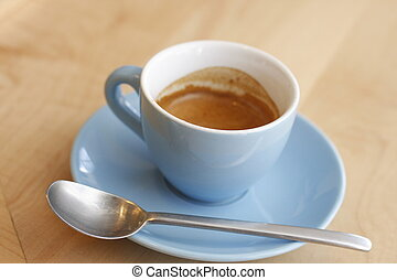 Espresso Shot - A shot sized mug of espresso.