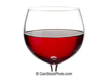 close up shot of red wine