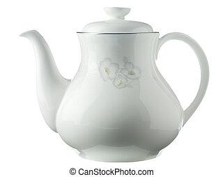 99 white tea pot