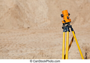 Surveyor equipment theodolite