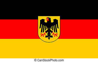 Government flag of Germany.