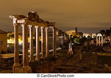 ローマ, ローマ人, フォーラム, イタリア