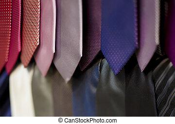 Krawatten, kaufmannsladen