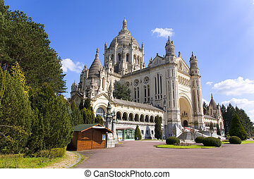 Basilica of Lisieux (Normandy, France) - Basilica of Lisieux...