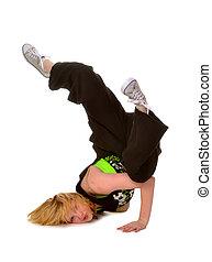 Hip Hop or Break Dancing Girl