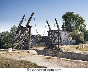 imagen, puente levadizo