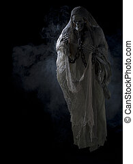 image of a skeleton surrounded with smoke - Image of a human...
