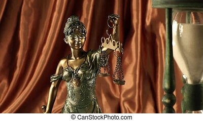 Scales of Justice and Law - Law and justice concept in...