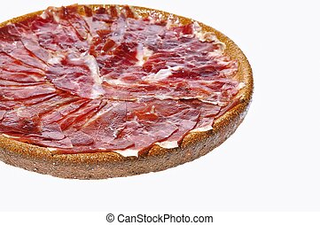 Spanish iberian ham. - Spanish iberian ham from acorn fed...