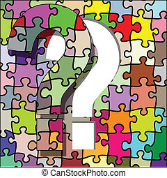 Question mark puzzle