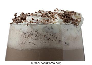 403 chocolate milk shake with whipped cream