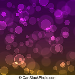 Blurred sparkles on a gradient - Blurred sparkles on a...