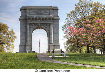 National Memorial Arch - The National Memorial Arch monument...