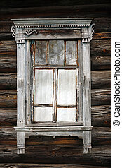 Old window - Very old window from the historical village