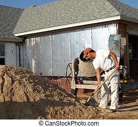 Shoveling Sand