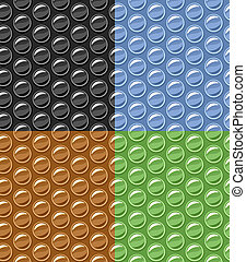 vector bubble wrap seamless background