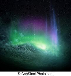 Northern Lights (Aurora) Northern Norway, winter 2012.