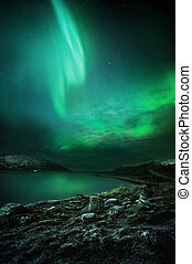 The Northern Lights Rising - The Northern Lights aurora...